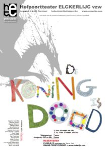 Book Cover: De koning is dood