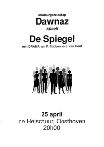 Book Cover: De Spiegel