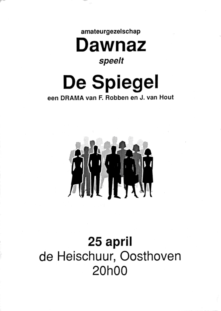 Book Cover: De Spiegel
